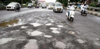 maharashtra pothole incidence