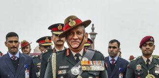 General Bipin Singh Rawat, Chief of Defence staff
