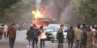 CAB protests in New Delhi
