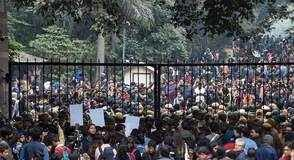 JNU protests, JNU violence