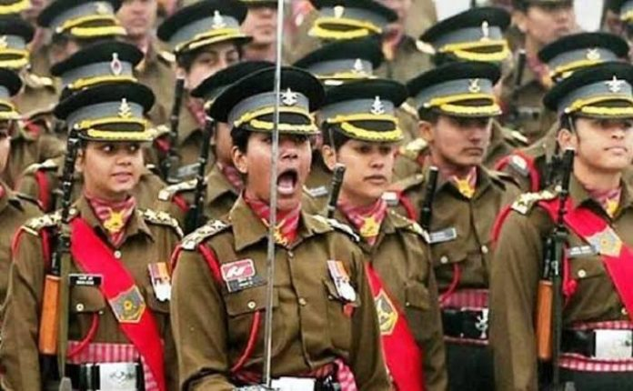 Indian female officers vs centre