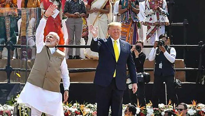 Motera Stadium, Narendra Modi, Donald Trump