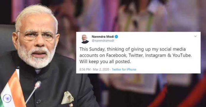 Indian PM, Narendra Modi