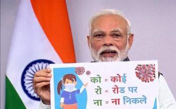 Narendra Modi, 21-day lockdown