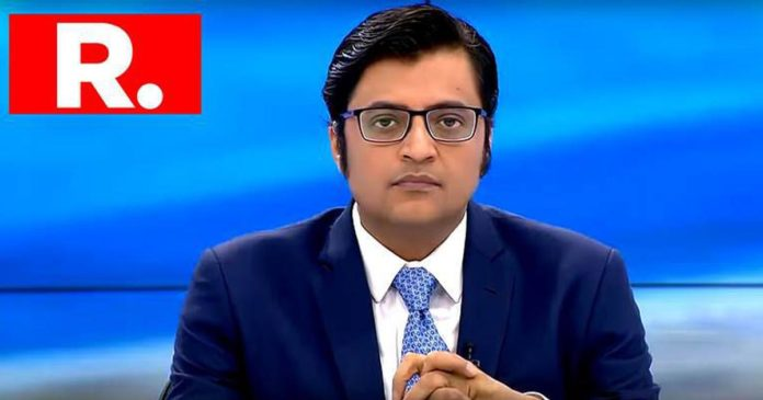 Arnab Goswani, Sonia Gandhi