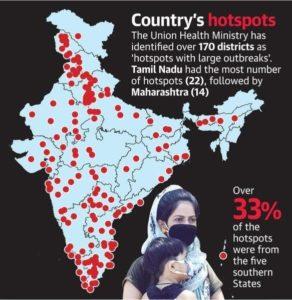 Hotspots in India