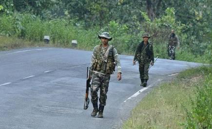 Naxalite attack, chattisgarh