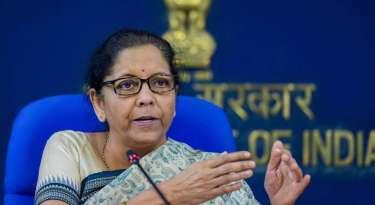 Nirmala Sitharaman, Finance Minister
