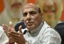 Rajnath Singh, Defence minister