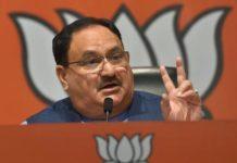 JP Nadda, BJP President