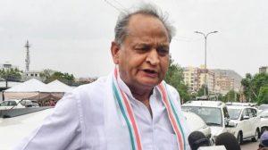 Ashok Gehlot, Rajasthan Chief Minister