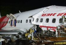 AI flight crashes at Kozhikode airport