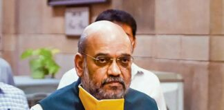 Amit Shah, home minister