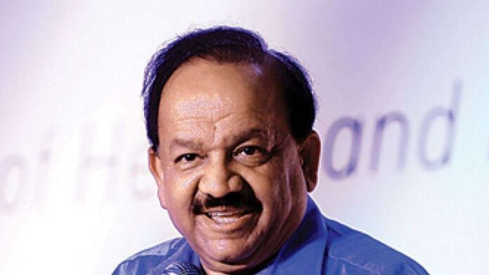 harsh vardhan, health minister