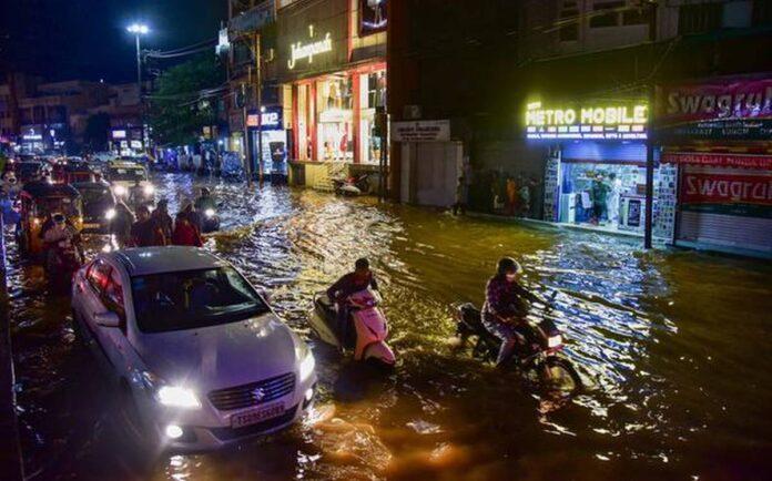 Heavy Rainfall in Hyderabad