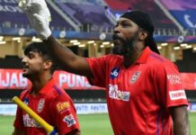 Kings X1 Punjab,, Chris Gayle