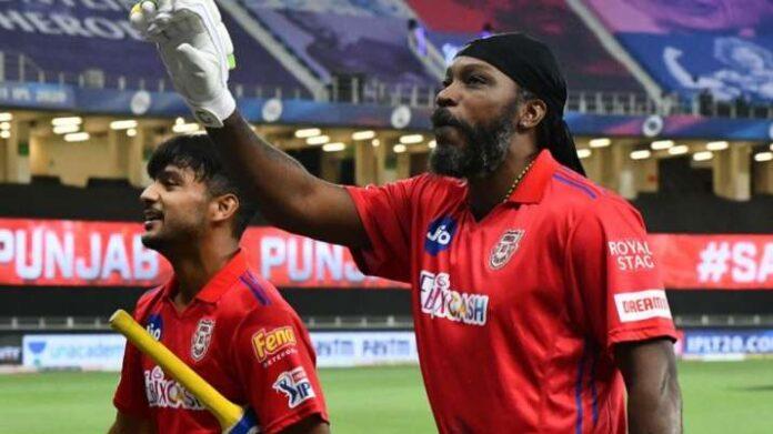 Kings X1 Punjab,, Chris Gayle