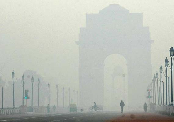 Delhi, smog, fog