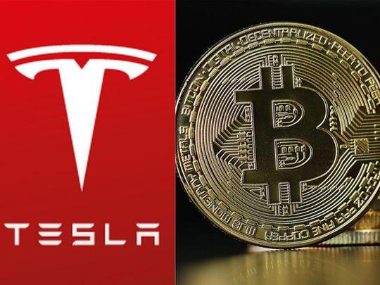 tesla, bitcoin