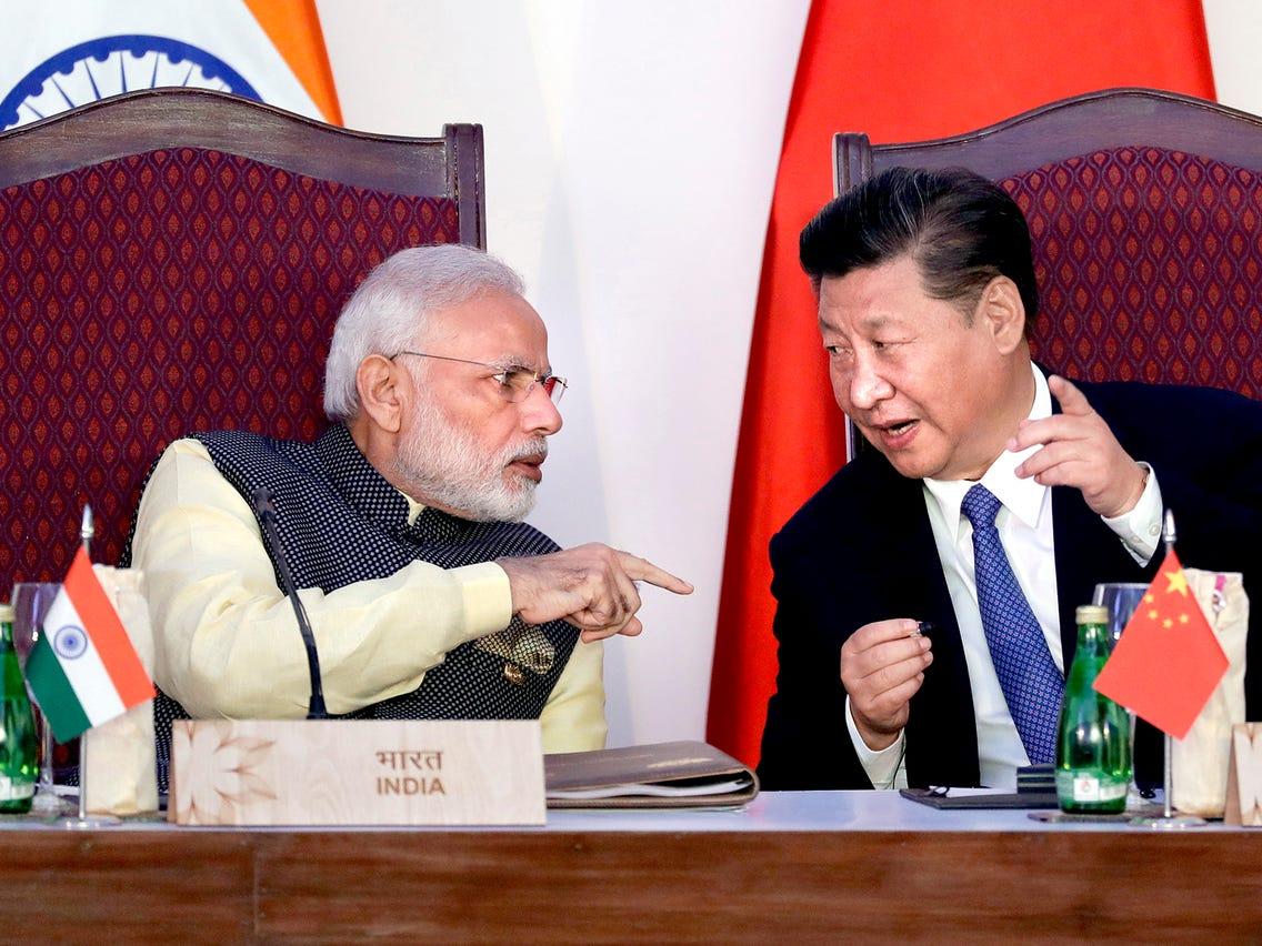 Narendra Modi, Xi Jingping