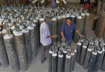 Oxygen shortage, Oxygen cylinders, Ganga Ram Hospital