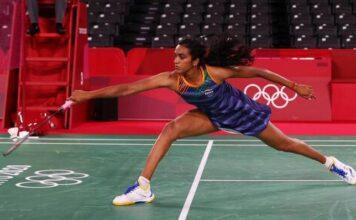 PV Sindhu, Tokyo Olympics