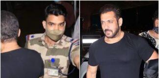 CISF Officer, Salman Khan