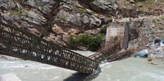 Himachal Pradesh, Kannaur, Landslide
