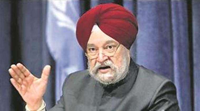 Hardeep Singh Puri, Petroleum Minister